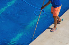 Swimming pool cleaner Stock Photography