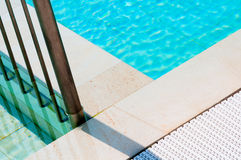 Swimming Pool Close Up Stock Images