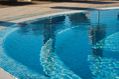 Swimming pool closeup Stock Photography