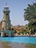Swimming pool in club el Faraana Royalty Free Stock Images