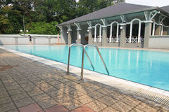 Swimming pool in club house Stock Photography