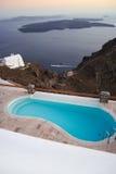 Swimming pool on coastline Royalty Free Stock Images