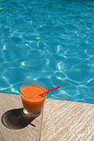 Swimming Pool Cocktails Royalty Free Stock Image