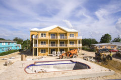 Swimming Pool Construction Stock Photography