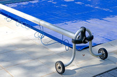 Swimming pool cover Royalty Free Stock Photos