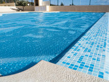 Swimming pool cover Royalty Free Stock Photography