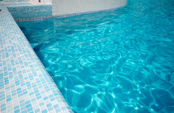 Swimming pool detail Royalty Free Stock Photography