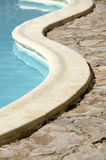 Swimming pool detail Royalty Free Stock Images