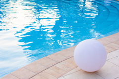 Swimming pool detail Royalty Free Stock Photos