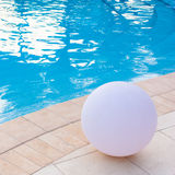 Swimming pool detail Royalty Free Stock Image