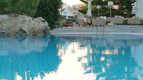 Swimming pool stock video