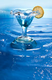 Swimming pool drinks Stock Image