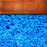 Swimming pool edge background. Stock Image