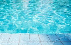 Swimming Pool Edge royalty free stock images