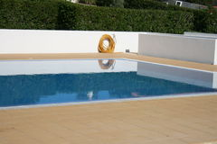 Swimming pool. Empty swimming pool outdoors in daylight Stock Photo