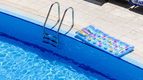 Swimming pool entrance background Royalty Free Stock Image