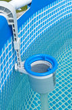 Swimming pool filter Royalty Free Stock Images