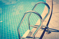 Swimming pool( Filtered image processed vintage effect Royalty Free Stock Image