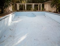 Swimming pool. The swimming pool at the Finca Vigia . Finca Vigia was the home of Hernest Hemingway in the suburb of the Havana, Cuba. Now the Finca Vigia is a Stock Images