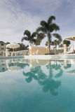 Swimming Pool at Florida Resort Royalty Free Stock Photos