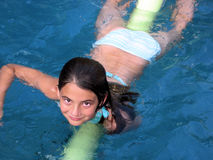 Swimming Pool Girl Stock Images