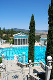 Swimming pool at Hearst castle. Photo of swimming pool at Hearst castle, California, USA Royalty Free Stock Photo
