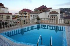 Swimming pool at hotel Royalty Free Stock Photos