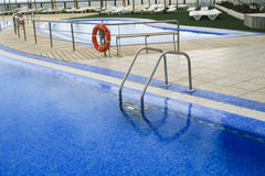 Swimming pool on hotel Royalty Free Stock Photos