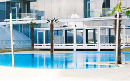 Swimming Pool. Hotel Service and Swimming Pool Stock Photos
