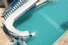 Swimming pool in the Hotel Royalty Free Stock Images
