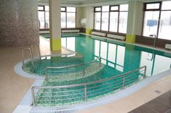 Swimming Pool In Hotel Stock Photography