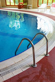 Swimming pool, indoors Stock Photography