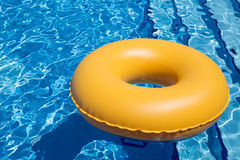 Swimming Pool Inner Tube Royalty Free Stock Image