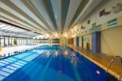 Swimming pool interior Stock Image