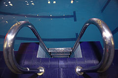 Swimming pool interior cool Royalty Free Stock Photography