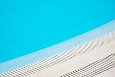 Swimming Pool Isolated. Blue Aqua Texture and Background. summer Hollidays, Relax. Swimming Pool Isolated. Blue Aqua Texture and Background stock photo