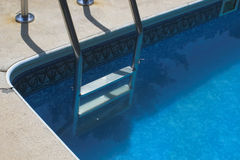 Swimming Pool Ladder Stock Image