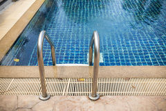 Swimming pool ladder Royalty Free Stock Photography