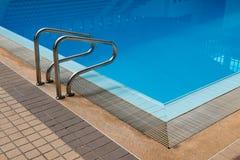 Swimming pool ladder Royalty Free Stock Photos