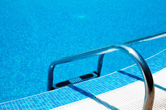 Swimming Pool ladder Royalty Free Stock Photo