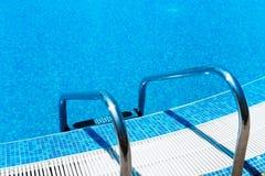 Swimming Pool ladder Royalty Free Stock Photo