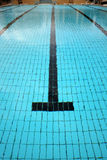 Swimming pool lane Royalty Free Stock Photography