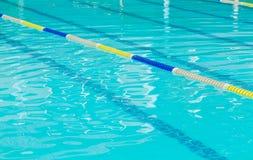 Swimming pool with  lane Stock Photo