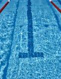 Swimming pool lane Royalty Free Stock Image