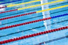 Swimming pool lane marker Stock Photo