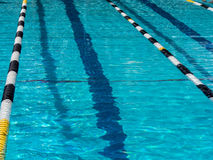 Swimming pool lane Stock Photo