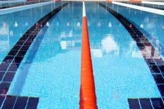 Swimming pool lane Ropes Stock Image