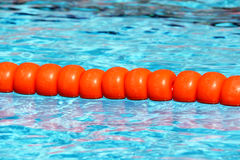Swimming pool lane Ropes Stock Photography