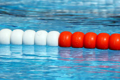Swimming pool lane Ropes Royalty Free Stock Photo