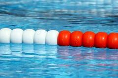 Swimming pool lane Ropes Royalty Free Stock Photo